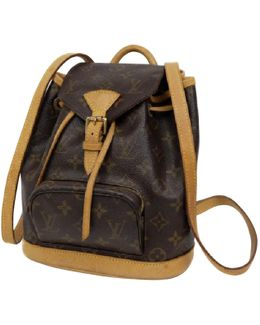 Pre-owned Cloth Backpack