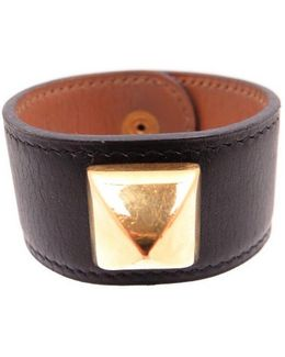 Pre-owned Collier De Chien Leather Bracelet