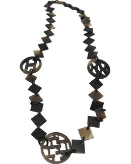 Pre-owned Horn Long Necklace