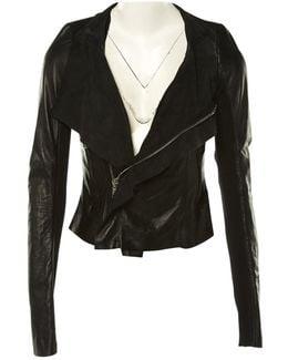Pre-owned Leather Biker Jacket