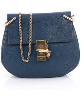 Pre-owned Blue Leather Handbag
