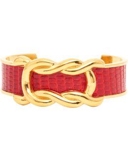 Pre-owned Gold Metal Bracelet