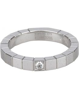 Pre-owned Lanières White Gold Ring