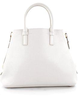 Pre-owned White Leather Handbag
