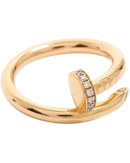 Pre-owned Juste Un Clou Yellow Gold Ring