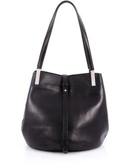 Pre-owned Black Leather Handbag