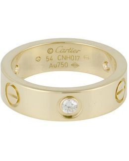 Pre-owned Love Yellow Gold Ring