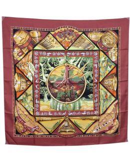 Pre-owned Silk Handkerchief