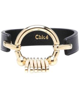Pre-owned Leather Bracelet
