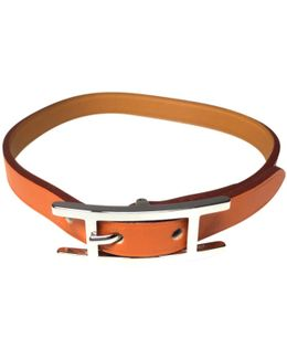 Pre-owned Hapi Leather Bracelet