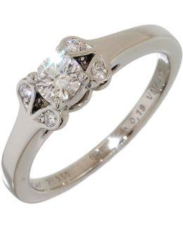 Pre-owned Platinum Ring