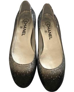 Pre-owned Leather Ballet Flats