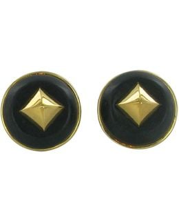 Pre-owned Gold Gold Plated Earrings