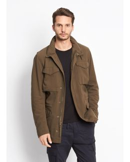 Shearling Lined Army Coat