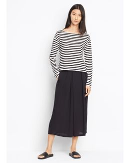 Crossover Pull-on Culotte