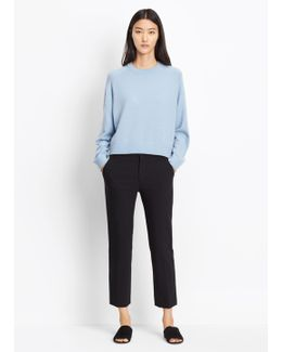 Stove Pipe Stretch Trouser