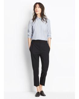Wool Crop Trouser