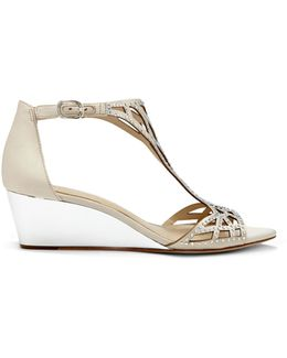 Imagine Jalen – Embellished Wedge Sandal