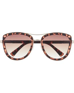 Metallic-detail Sunglasses