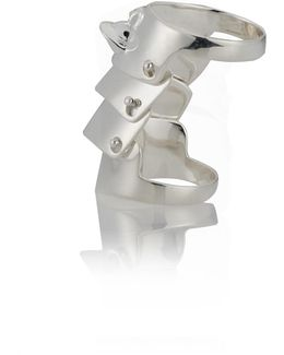 Armour Ring Silver