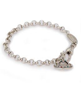 New Petite Orb Bracelet Silver