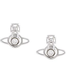 Nora Earrings White