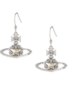 Astrid Drop Earrings Silver