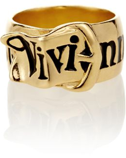 Gold Belt Ring