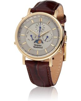 Brown Portland Watch Vv164chbr