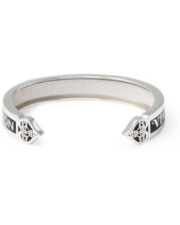 Sterling Silver Vegas Open Bangle