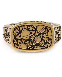 Sterling Silver Angelo Ring Gold