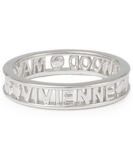 Sterling Silver Westminster Ring