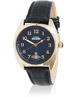 Hampstead Watch Blue/gold