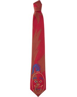 Ballets Russes Tie Red