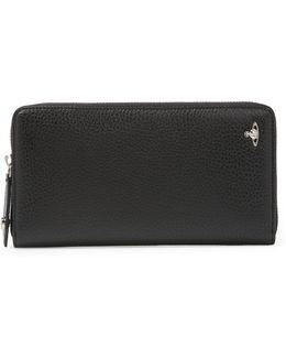 Milano Zip Wallet 33358 Black