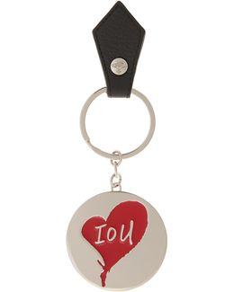 Iou Key Ring 321575 Black
