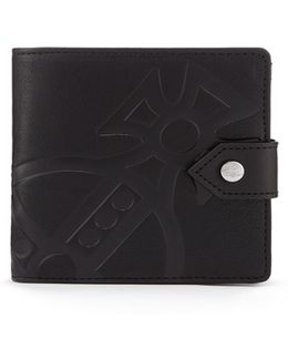 Man Giant Orb Wallet 51090001 Black