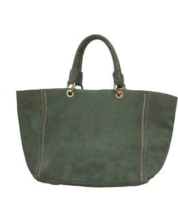 Military Suede Bag