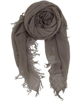 Cinder Cashmere Silk Scarf