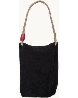 Sofia Black Strap Bag