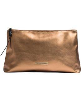 Bronze Makeup Bag