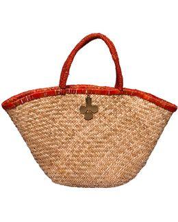 Mica Straw Bag