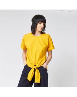 Tie Front Cotton Top