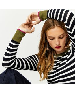 Bretton Block Stripe Jumper