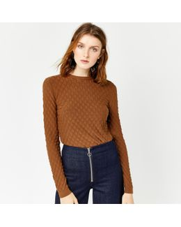 Scallop Stitch Jumper