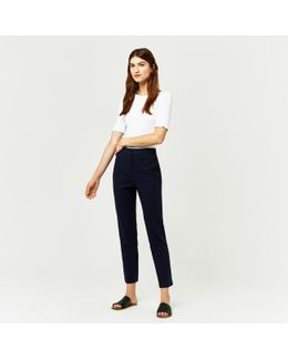 Textured Slim Leg Trouser