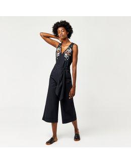 Freida Embroidered Jumpsuit
