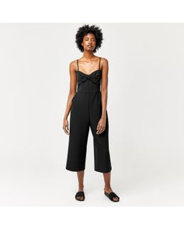 Twist Front Jumpsuit