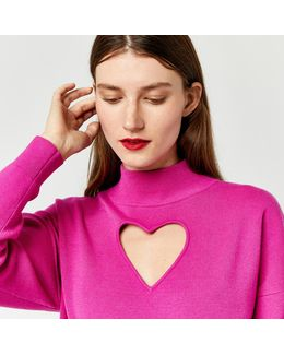 Heart Cut Out Jumper