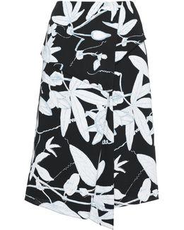 Botanical Floral Folded Skirt
